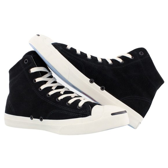 NEW Size 8 Mens Converse Jack Purcell Black Suede